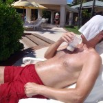 Pina Colada + Cold Cloth = Priceless